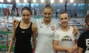 od lewej-Karolina Rosińska, Aleksandra Urbańczyk, Maja Zdrojewska